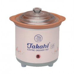Electric Crockery Pot (Pink) HR, 0.7-Litre