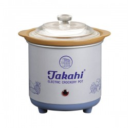 Electric Crockery Pot (Blue) HR, 0.7-Litre