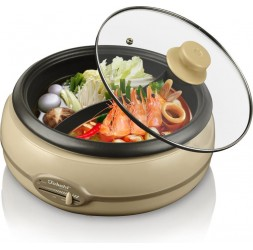Electric Multi-Function Cooker,Type:DP (Divided Pot), 3.0-Litre