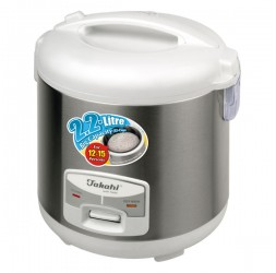 12-Cup Electric Rice Cooker With Warmer, 2.2-Litre