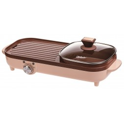 Electric Grill With Hot Pot