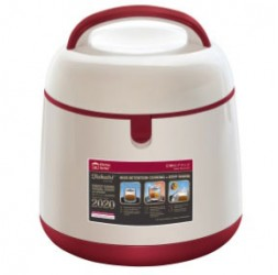 Energy-Saving Thermal Cooker With Warmer, 1.5-Litre + 0.5-Litre