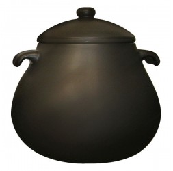 Heat-Resistant Earthen Pot Premium Small Rim Series, 7.5-Litre