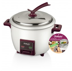 NEW 5-Cup Electric Rice Cooker with Warmer & Steamer Tray (1.0-Litre)
