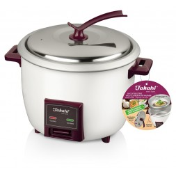 10-Cup Electric Rice Cooker with Warmer & Steamer Tray (1.8-Litre)