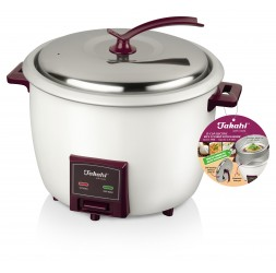 15-Cup Electric Rice Cooker with Warmer & Steamer Tray (2.8-Litre)